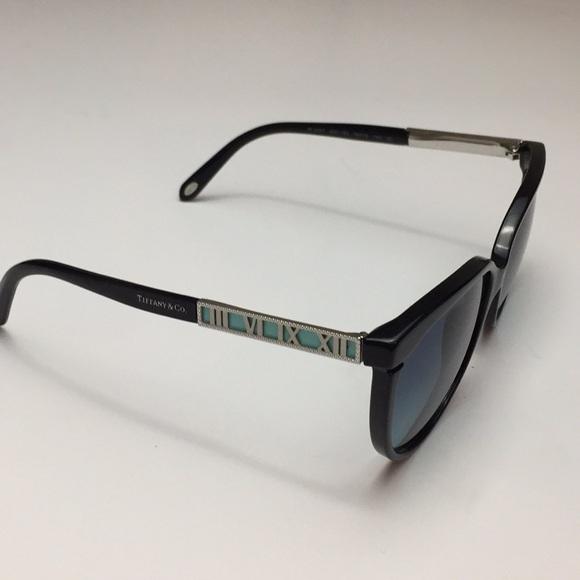 1c98f6edec3 New Tiffany   Co Black and Blue Sunglasses. M 5b0773b4a825a65455a5063f